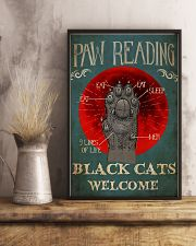 Paw Reading 24x36 Poster lifestyle-poster-3