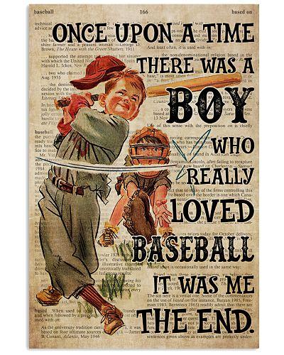 Boy OUAT Loved Baseball