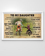 Motorcycle To My Daughter  36x24 Poster poster-landscape-36x24-lifestyle-02