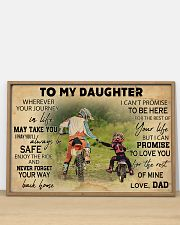 Motorcycle To My Daughter  36x24 Poster poster-landscape-36x24-lifestyle-03