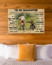 Motorcycle To My Daughter  36x24 Poster poster-landscape-36x24-lifestyle-23