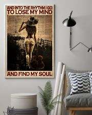 Female Guitar And Into The Rythm I Go 24x36 Poster lifestyle-poster-1
