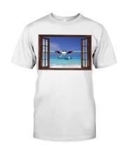 Seaplane Front Window  Classic T-Shirt tile