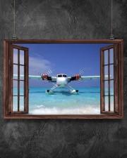 Seaplane Front Window  36x24 Poster aos-poster-landscape-36x24-lifestyle-11