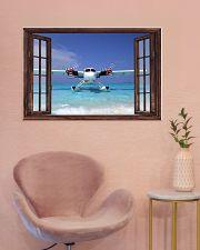 Seaplane Front Window  36x24 Poster poster-landscape-36x24-lifestyle-19