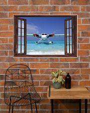 Seaplane Front Window  36x24 Poster poster-landscape-36x24-lifestyle-20