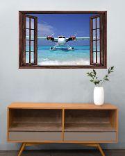 Seaplane Front Window  36x24 Poster poster-landscape-36x24-lifestyle-21