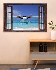 Seaplane Front Window  36x24 Poster poster-landscape-36x24-lifestyle-22