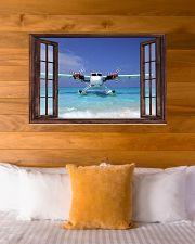 Seaplane Front Window  36x24 Poster poster-landscape-36x24-lifestyle-23