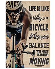 Cycling Life Quote 24x36 Poster front