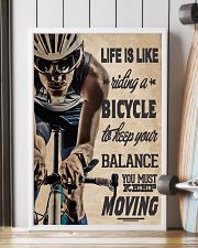 Cycling Life Quote 24x36 Poster lifestyle-poster-4