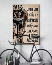 Cycling Life Quote 24x36 Poster lifestyle-poster-7