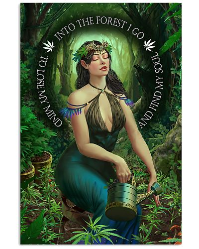 Cannabis Into The Forest I Go