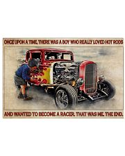 OUAT Boy Loved Hot Rods 36x24 Poster front