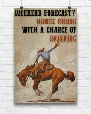 Horse Riding Weekend Forecast 24x36 Poster aos-poster-portrait-24x36-lifestyle-17