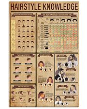 Hairstyle Knowledge 24x36 Poster front