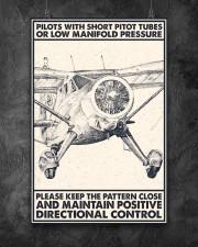 Pilot With Short Pitot Tubes 24x36 Poster aos-poster-portrait-24x36-lifestyle-12