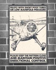 Pilot With Short Pitot Tubes 24x36 Poster aos-poster-portrait-24x36-lifestyle-18