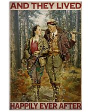Hunting Couple 24x36 Poster front