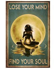 Yoga Yellow Moon Lose Your Mind 24x36 Poster front