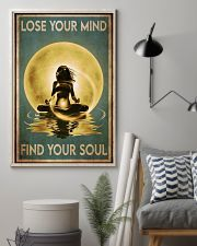 Yoga Yellow Moon Lose Your Mind 24x36 Poster lifestyle-poster-1