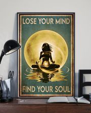 Yoga Yellow Moon Lose Your Mind 24x36 Poster lifestyle-poster-2