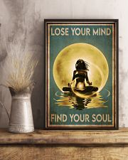 Yoga Yellow Moon Lose Your Mind 24x36 Poster lifestyle-poster-3