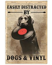 Distracted By Dogs And Vinyl 24x36 Poster front