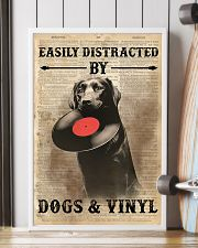 Distracted By Dogs And Vinyl 24x36 Poster lifestyle-poster-4