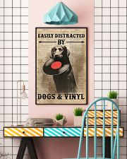 Distracted By Dogs And Vinyl 24x36 Poster lifestyle-poster-6
