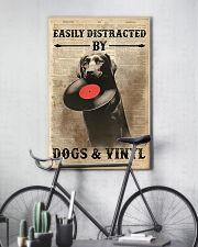 Distracted By Dogs And Vinyl 24x36 Poster lifestyle-poster-7