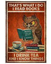 Owl That's What I Do 24x36 Poster front