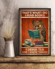 Owl That's What I Do 24x36 Poster lifestyle-poster-3