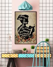 Nurse Lamp Perhaps  24x36 Poster lifestyle-poster-6