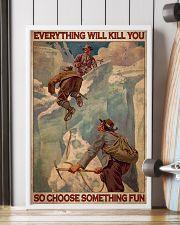 Ski Moutaineering Choose Something Fun 24x36 Poster lifestyle-poster-4