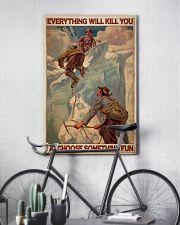 Ski Moutaineering Choose Something Fun 24x36 Poster lifestyle-poster-7