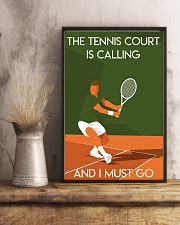 Tennis Court Calling  24x36 Poster lifestyle-poster-3