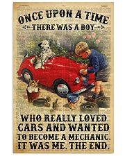 Boy Loved Cars And Wanted To Become A Mechanic 2  Vertical Poster tile