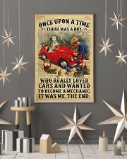 Boy Loved Cars And Wanted To Become A Mechanic 2  24x36 Poster lifestyle-holiday-poster-1