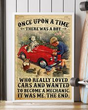 Boy Loved Cars And Wanted To Become A Mechanic 2  24x36 Poster lifestyle-poster-4
