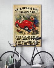 Boy Loved Cars And Wanted To Become A Mechanic 2  24x36 Poster lifestyle-poster-7