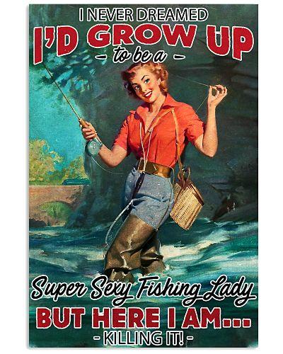 Super Sexy Fishing Lady