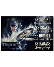 Drummer Be Strong 36x24 Poster front