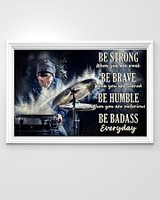 Drummer Be Strong 36x24 Poster poster-landscape-36x24-lifestyle-02