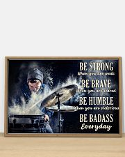 Drummer Be Strong 36x24 Poster poster-landscape-36x24-lifestyle-03