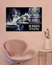 Drummer Be Strong 36x24 Poster poster-landscape-36x24-lifestyle-19