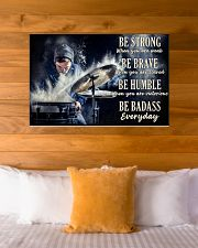 Drummer Be Strong 36x24 Poster poster-landscape-36x24-lifestyle-23