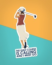 Girl Golf Course Is Calling Sticker - Single (Vertical) aos-sticker-single-vertical-lifestyle-front-02