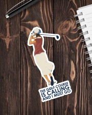 Girl Golf Course Is Calling Sticker - Single (Vertical) aos-sticker-single-vertical-lifestyle-front-05