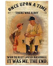 Baseball OUAT 24x36 Poster front